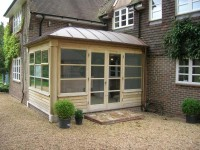 Copper roofed conservatory