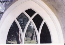 Gothic arched frame